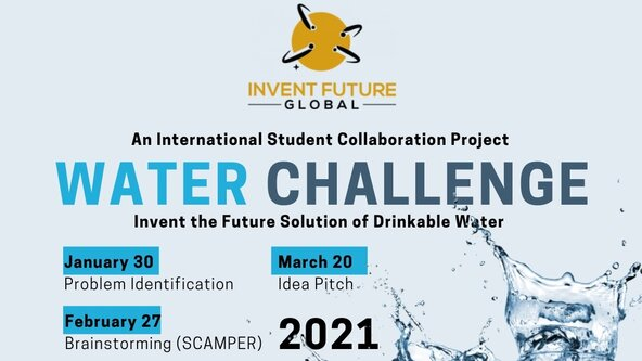 Global Water Challenge - Ages 9 - 17