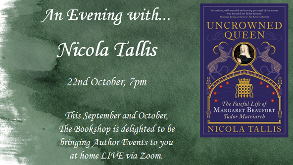 An Evening with Nicola Tallis