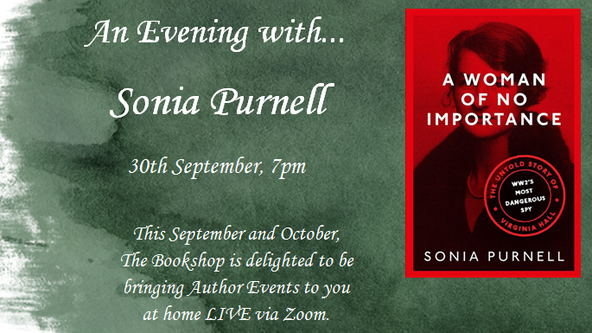 An Evening with Sonia Purnell