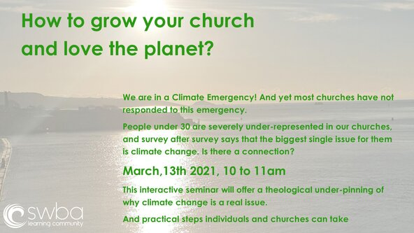 How to grow your church and love the planet!
