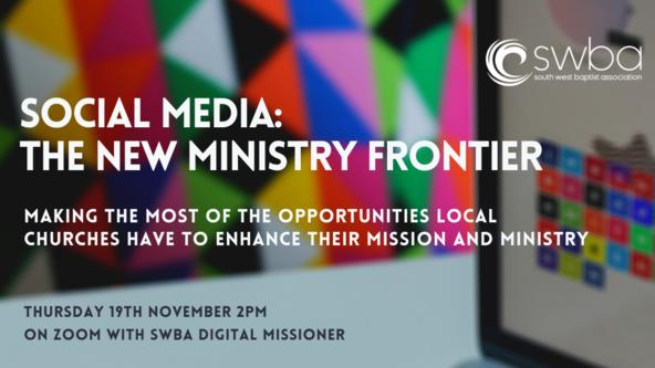 Webinar - Social Media: the new ministry frontier