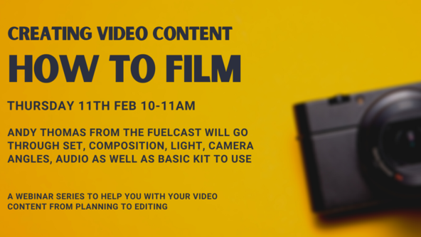 Creating Video Content - how to film