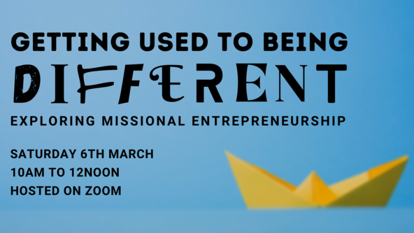 Getting Used To Being Different: missional entrepreneurship