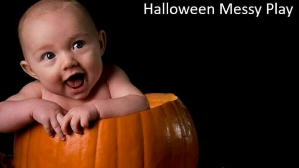 Eastbourne Baby Messy Play - Halloween Theme 🎃 (6 months to walking)