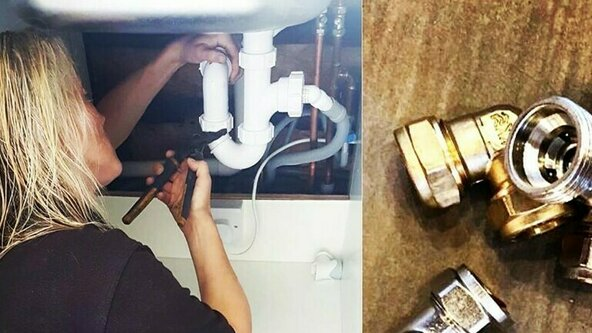 2 Day Plumbing Intensive - Course for Women SOUTH BRENT