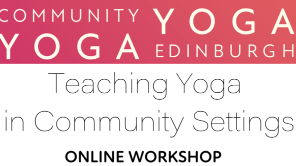 Teaching Yoga in Community Settings (Online Course)