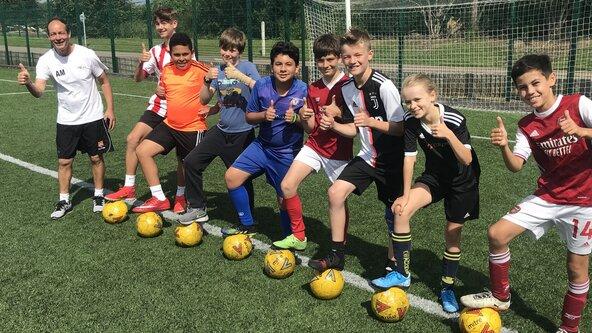 Saturday Morning Soccer School - Years 4, 5, 6 & 7