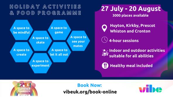 Vibe HAF Summer - Southdene Kirkby  - 11+ only