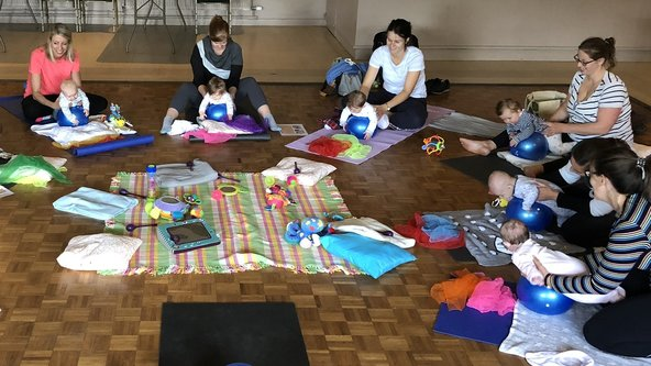 Mum & Baby Yoga - in person