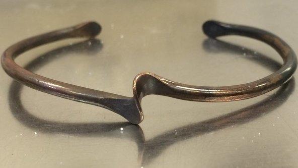 Cold Forging Copper Bracelets