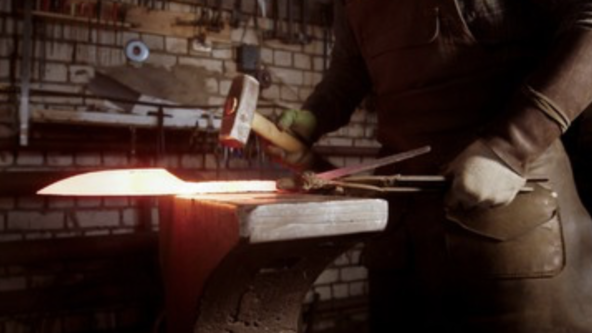 Forging a High-End Chef's Knife