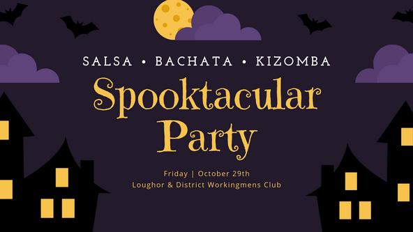 Spooktacular SBK Party - Loughor (Bachata Classes)
