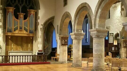 Requiem in a Day: NEWPORT CATHEDRAL