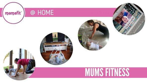 Mamafit® @ HOME: Mums Fitness ONLINE