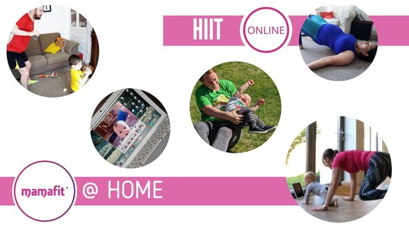 Mamafit® @ HOME: HIIT ONLINE