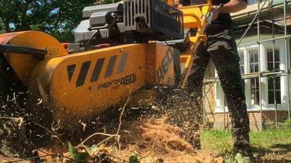 Safe use of a Stump Grinder Course Including Assessment - Unit 220