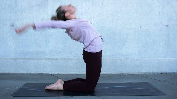 "Workshop ! ""Yoga on beat"" 💓"