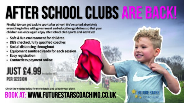 St Chads - Multi Sports for Year 1 - Term 5 2021