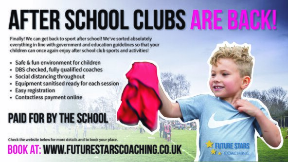 Manorbrook - Tag Rugby for Year 5 & 6  - Term 1 & 2 2021