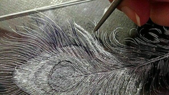 TERM 3, 2021 -  ADULTS  - BEGINNERS PRINTMAKING - ETCHING  (16yrs+) -  Sun 29th August, 2021