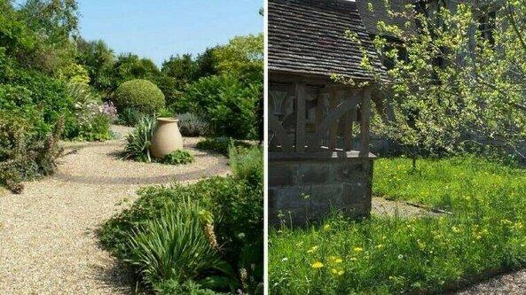 Virtual visit to Denmans Garden + Michelham Priory garden