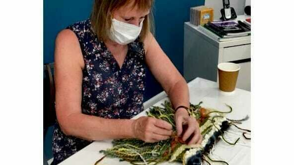 Community Weaving Workshop with Becca Stockwell