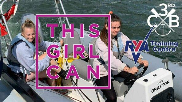 #ThisGirlCan Powerboat Level 1