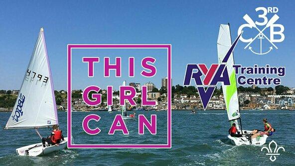 #ThisGirlCan RYA Sailing Stage 1