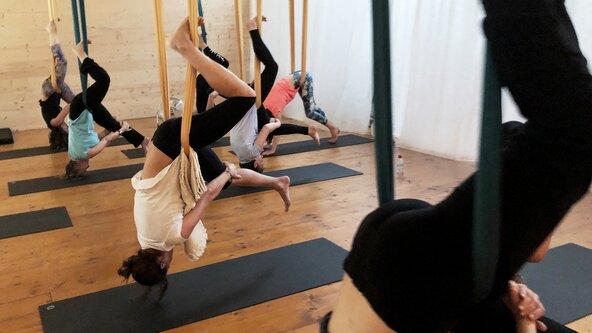 Yoga Aérien (pratique longue)
