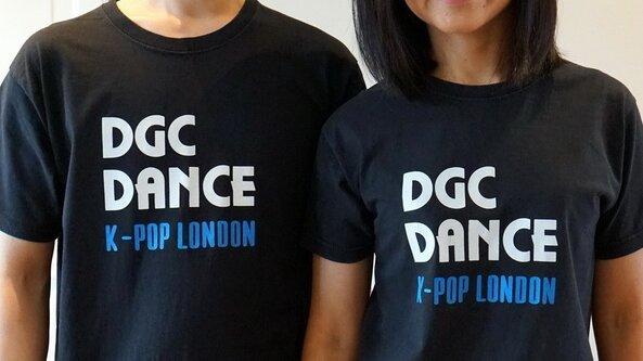 Black DGC Dance Logo T-Shirt