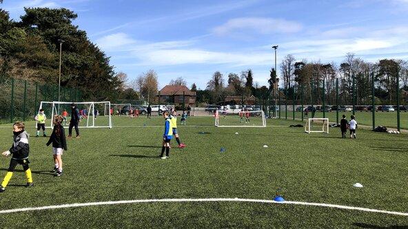 October Half term Football Camp