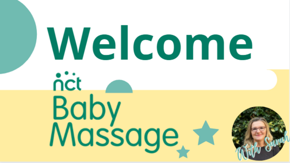 In Person Baby Massage Course with Sarah (NCT Affiliated) (Approx. 6 weeks+)
