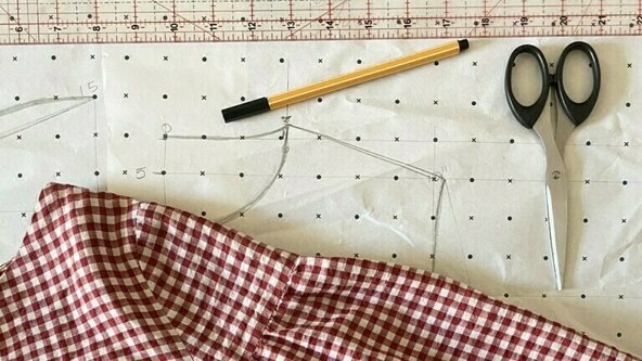 Online: Copy Your Clothes - Pattern Cutting Workshop (ages 12- 16)