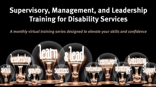 Supervisory, Management, and Leadership Training Series - Virtual Classroom