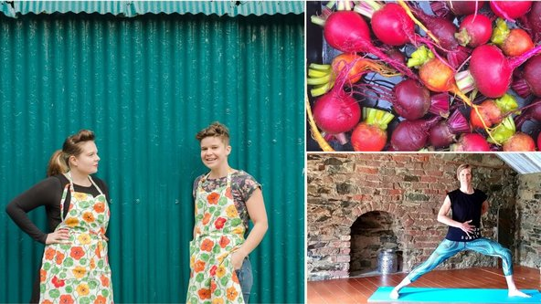 Online Half-Day Retreat: Yoga & Cooking with Mourne Yoga & The Edible Flower