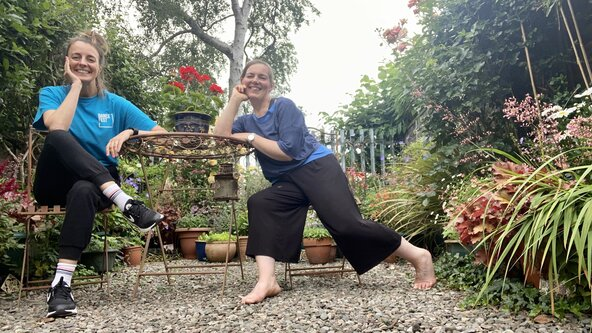 LIVE Insight into Dance for Older People 1 (18+)-Community dance with Marie Olaker & Elizabeth Crosswell