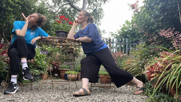 ZOOM Insight into Dance for Older People 2  - Gentle Dance, with Marie Oldaker and Elizabeth Crosswell
