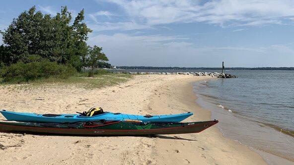 Sea Kayaking Chesapeake Beginner Trip