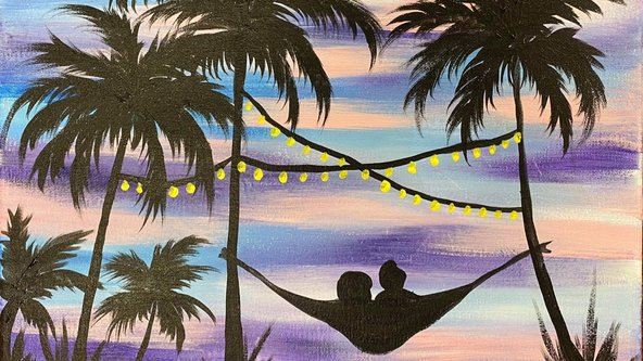 Hammock in paradise - Adult Painting