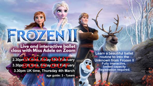 Frozen II - Ballet Workshop with Miss Adele