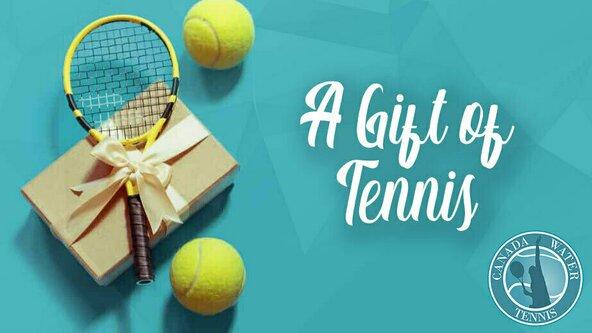 Canada Water Tennis 🎁💌 Gift Vouchers