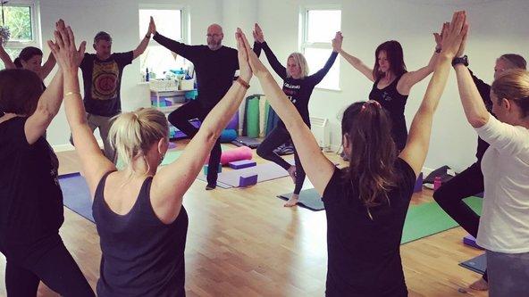 Vinyasa Yoga Thursday In-person 7.30pm- 8.45pm