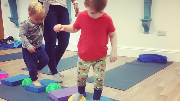 Toddler & Family Yoga In-person Friday 10am-10.45am