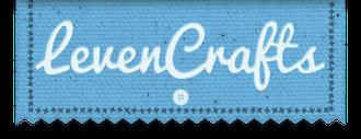 Levencrafts logo blue