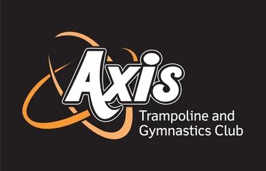 Axis logo black background