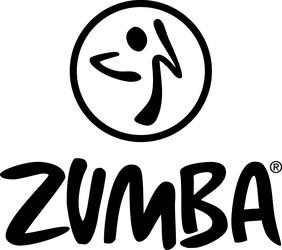 Zumba logo primary black