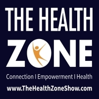 Thehealthzoneshow website logo email