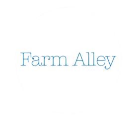 Farm alley circle logo