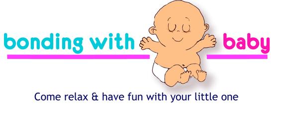 Bonding with baby logo