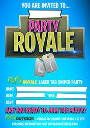 Invites go royale